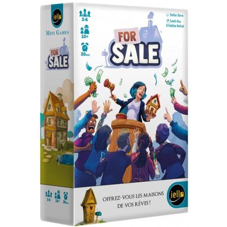 For Sale, Iello, Mini Games : offrez vous les maisons de vos rêves !