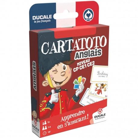 Cartatoto : apprendre l'anglais, les mots du quotidien