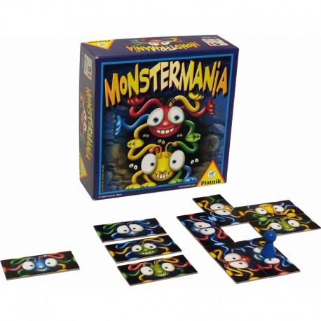Monstermania, Piatnik Editions : Un jeu de tuiles original et rigolo !