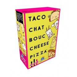 Taco chat bouc cheese pizza, Blue Orange