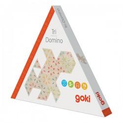 Tri-dominos en bois, 3,4 cm, 76 pièces
