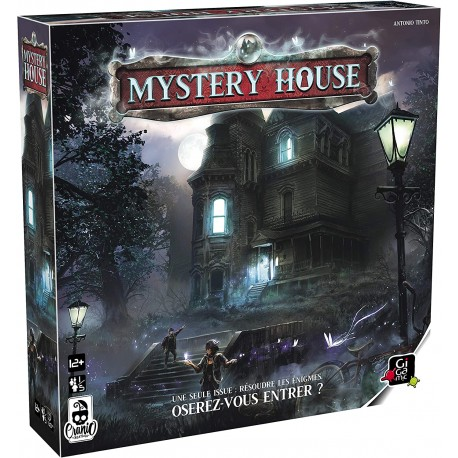 Mystery House, Gigamic : une expérience immersive escape room