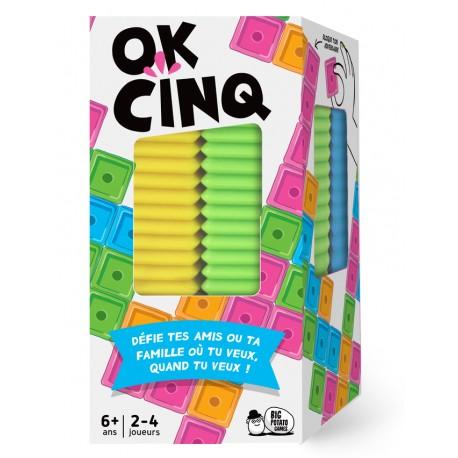 Ok Cinq, Big Potato Games , un Puissance 4 pour 2 à 4 joueurs