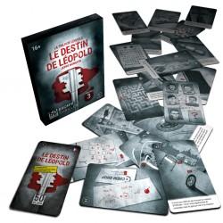 Le Destin de Léopold, 50 escape thriller, Black Rock Games