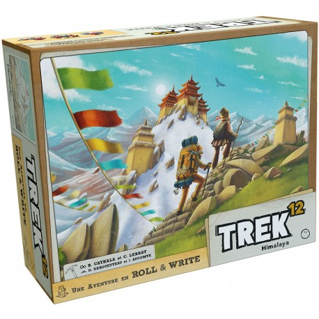 Trek 12, Whatz Games Trek 12 : une aventure Roll and Write