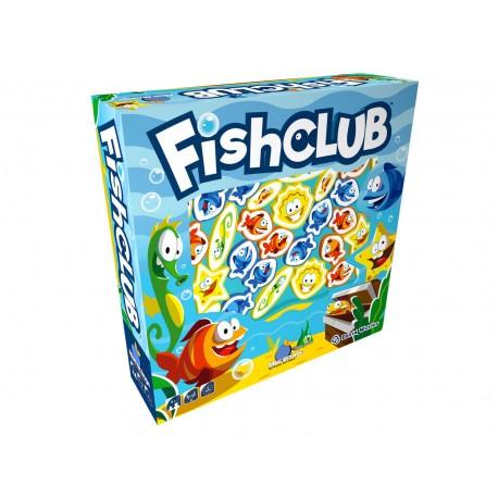 Fish Club, Blue Orange : un aquarium, des poissons, un puissance 5