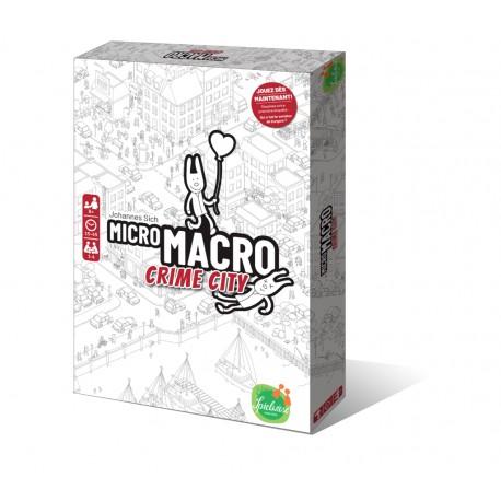 Micro Macro - Crime city : résoudre une énigme grâce à une carte géante truffée de détails.