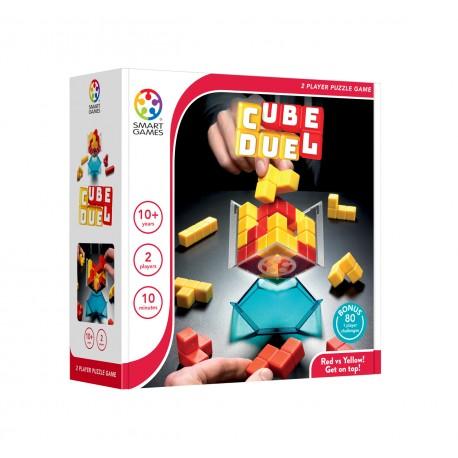 Cube Duel, Smart Games : en solo ou en duel, rouge contre jaune