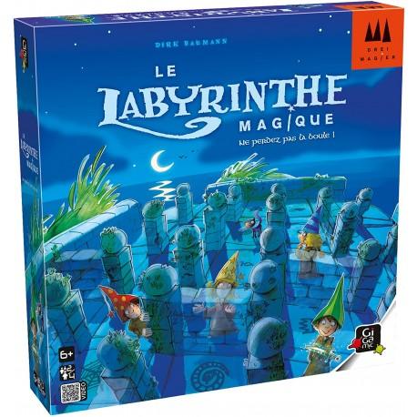 Labyrinthe magique, Gigamic : 5 objets à collecter en évitant les murs cachés