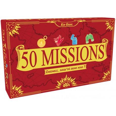 50 missions, Oya : Ensemble, vous avez 50 missions à réaliser.