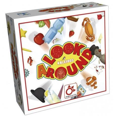 Look a Round, Oya : cherchez quelque chose dont le nom commence par une lettre choisie au hasard