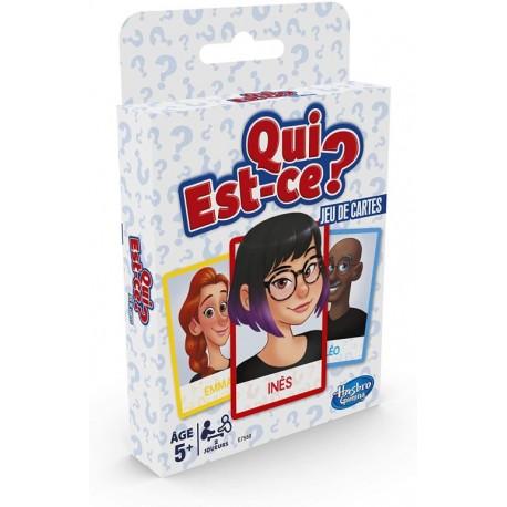 Qui est-ce ?, le jeu de cartes, Hasbro