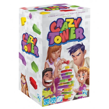 Crazy Tower, Synapses Games : construis et déjoue les plans du saboteur