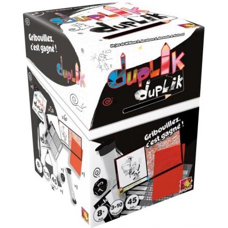 Duplik, Asmodée : Le premier jeu de dessin qui offre enfin une chance de victoire à votre petite sœur !