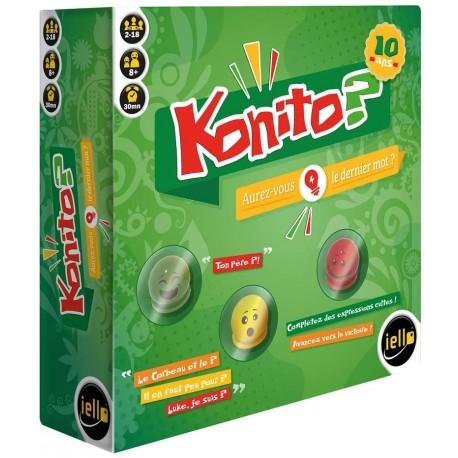 Konito, Iello : aurez vous le dernier mot ? complétez la phrase et marquez des points