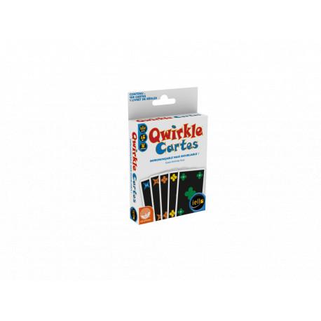 Qwirkle, le jeu de cartes, Iello : nouvelle mécanique adaptée aux daltoniens
