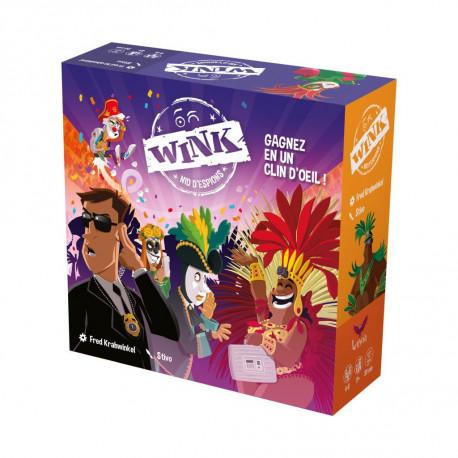 Wink, nouvelle version, Letheia éditions : gagnez en un clin d'oeil