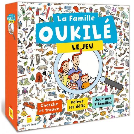Famille Oukilé, Bayard Editions : cherche et trouve, des défis et 7 familles
