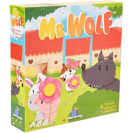 Mr Wolf, Blue Orange UN JEU COOPÉRATIF ACCESSIBLE DÈS 4 ANS !