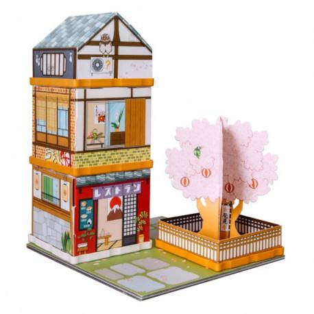 Fabulabox, Sakura Dori et l'école des ninjas : Jeu de construction – Histoire à lire – Enigmes