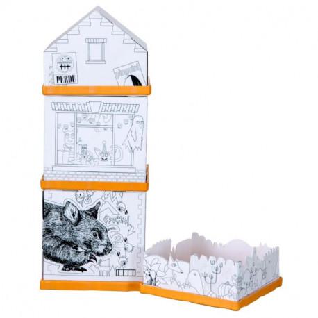 Fabulabox, Color Monsterlane : Jeu de construction – Histoire à lire – Enigmes