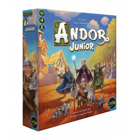 Andor junior, Iello