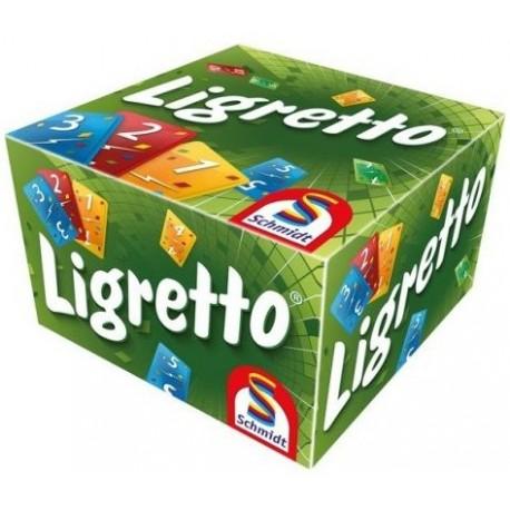 Ligretto, Schmidt Editions, jeu de cartes, boite verte, nouvelle version