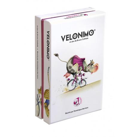 Vélonimo, Stratosphères : Un jeu de défausse de course de vélo au pays des animaux, rapide, simple, 100% made in France
