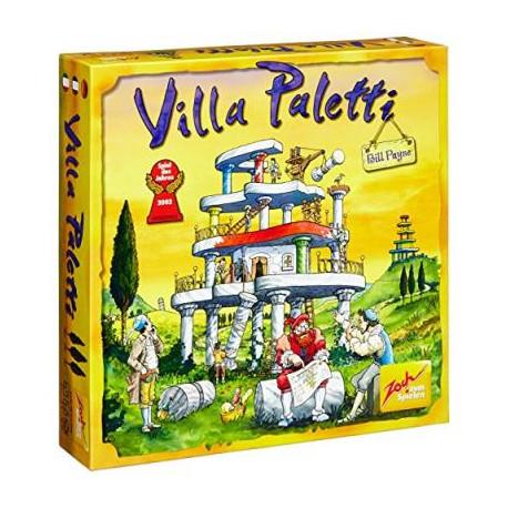 Villa Paletti, Zoch : se servir des colonnes inférieures pour bâtir les étages supérieurs