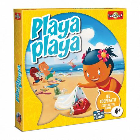 Playa Playa, Bioviva : Mémoriser et coopérer pour préserver la plage.