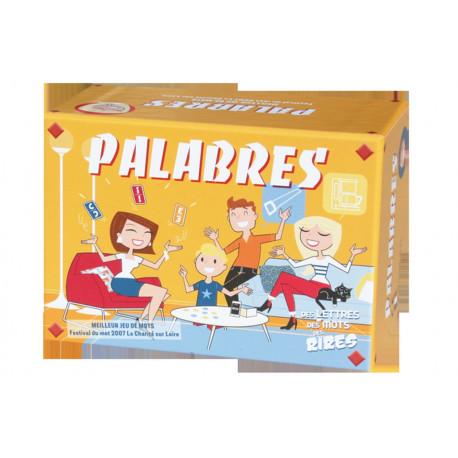 Palabres, jeux Fk : Des lettres, des mots, des rires. Scandez un maximum de mots contenant les 3 lettres retournées.