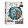 Puzzle 3D Harry Potter, Wrebbit, Ollivanders Wand Shop and Scribbulus, 295 pièces