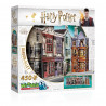 Puzzle 3D Harry Potter, Wrebbit, Diagon Halley, 450 pièces
