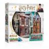 Puzzle 3D Harry Potter, Wrebbit, Diagon Halley, 450 pièces