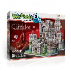 Puzzle 3D Camelot, Wrebbit, Château et Cathédrale, 865 pîèces
