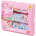 1000 stickers filles