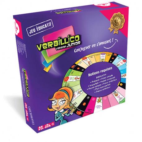 Verbillico Junior, Mattika A la recherche de jeu de conjugaison pour votre classe ou en famille