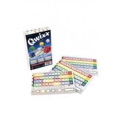 Recharges de bloc score pour le jeu Qwixx, Gigamic