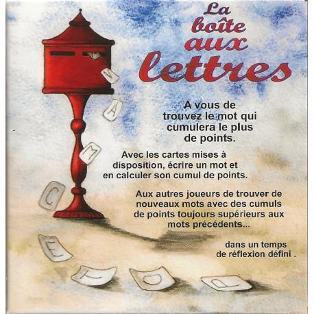 La boite aux Lettres, jeu du Pas : créez le mot permettant de marquer le plus de points possible