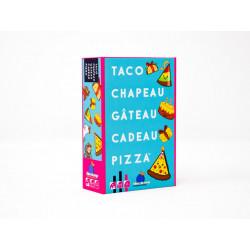 Taco Chapeau Gateau Cadeau Pizza, Blue Orange