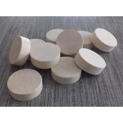 Palets en bois pour billard hollandais, 3 cm (x10)