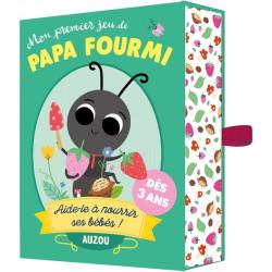 Papa Fourmi, Auzou. Un mémory twisté et coopératif, qui challenge la concentration et la mémoire.