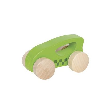 Voiture en bois premier âge verte, Hape