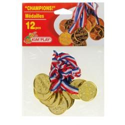 Médailles champion (x12)