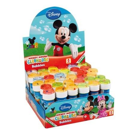 Bulle de savon 60 ml (x36) Mickey et ses amis, avec jeu
