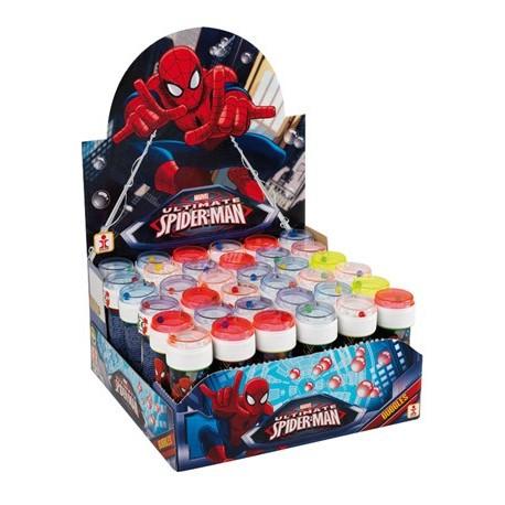 Bulle de savon 60 ml (x36) Spiderman avec jeu