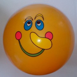 Ballon visage 23 cm (x12)