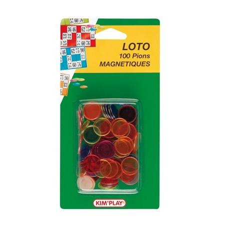 Pions de loto magnétiques (x100)