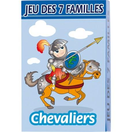 Jeu de 7 familles, conte et histoire, chevaliers