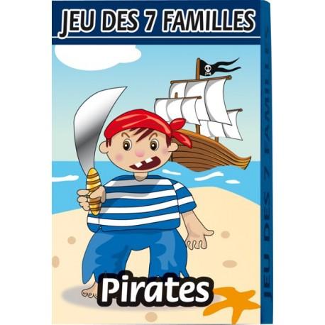 Jeu de 7 familles, conte et histoire, pirates